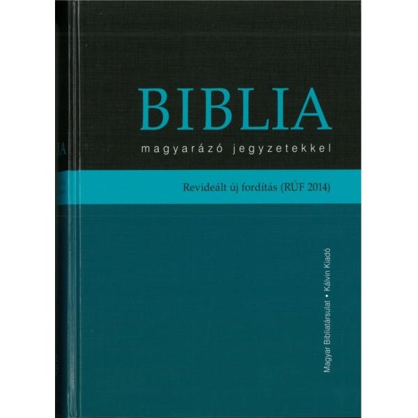 Biblia - magyarázó jegyzetekkel (RUF 2014)