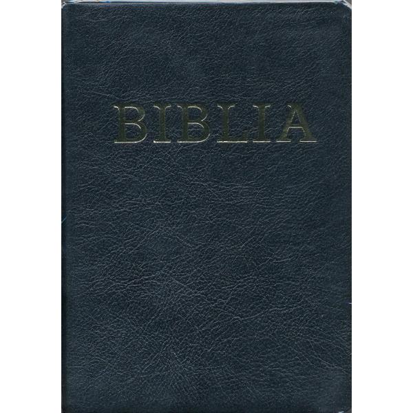 Biblia - revideált újfordítás - bõrkötésû, aranyszélû, cipzáras - kiscsaládi méret