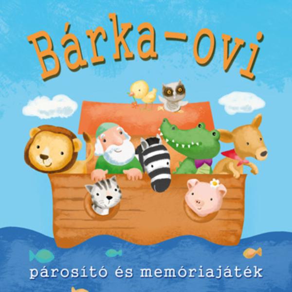 Bárka-ovi  - bibliai párosító és memória játék 4 éves kortól