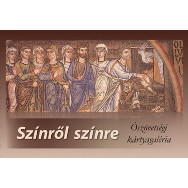 Színrõl színre - bibliai és mûvészettörténeti társasjáték - Ószövetség