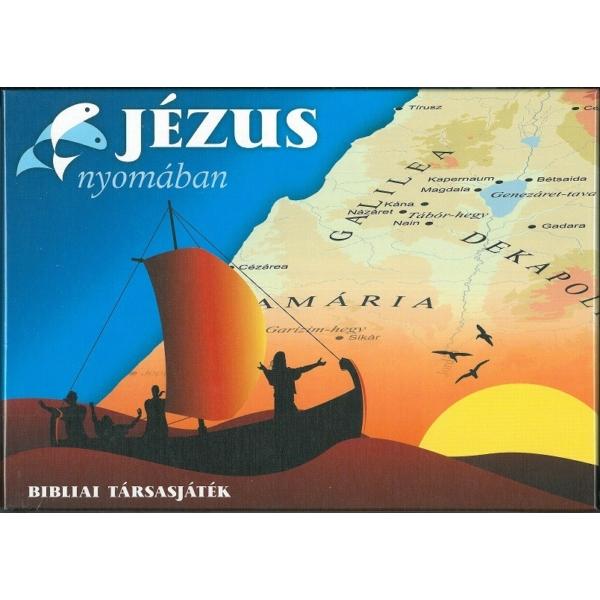 Jézus nyomában - Bibliai társasjáték